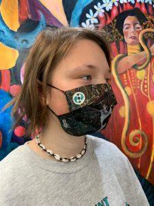 Sasha mascarillas solidarias ong ngo diversidad funcional juventud