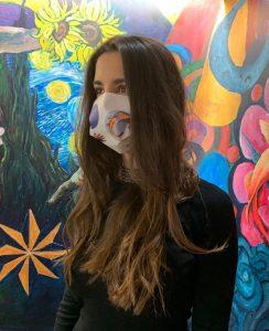 carlota mascarillas solidarias ong ngo diversidad funcional juventud